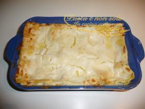 Lasagne con zucchine, ricotta e formaggi
