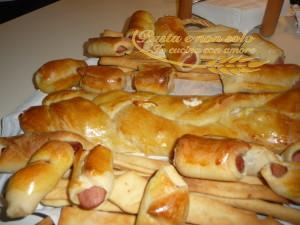 la mia treccia salata e gli hot dog