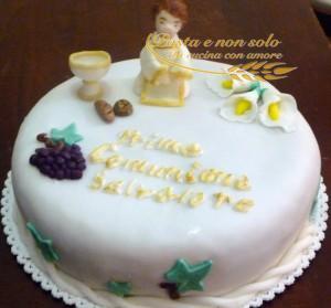 torta prima comunione salvatore