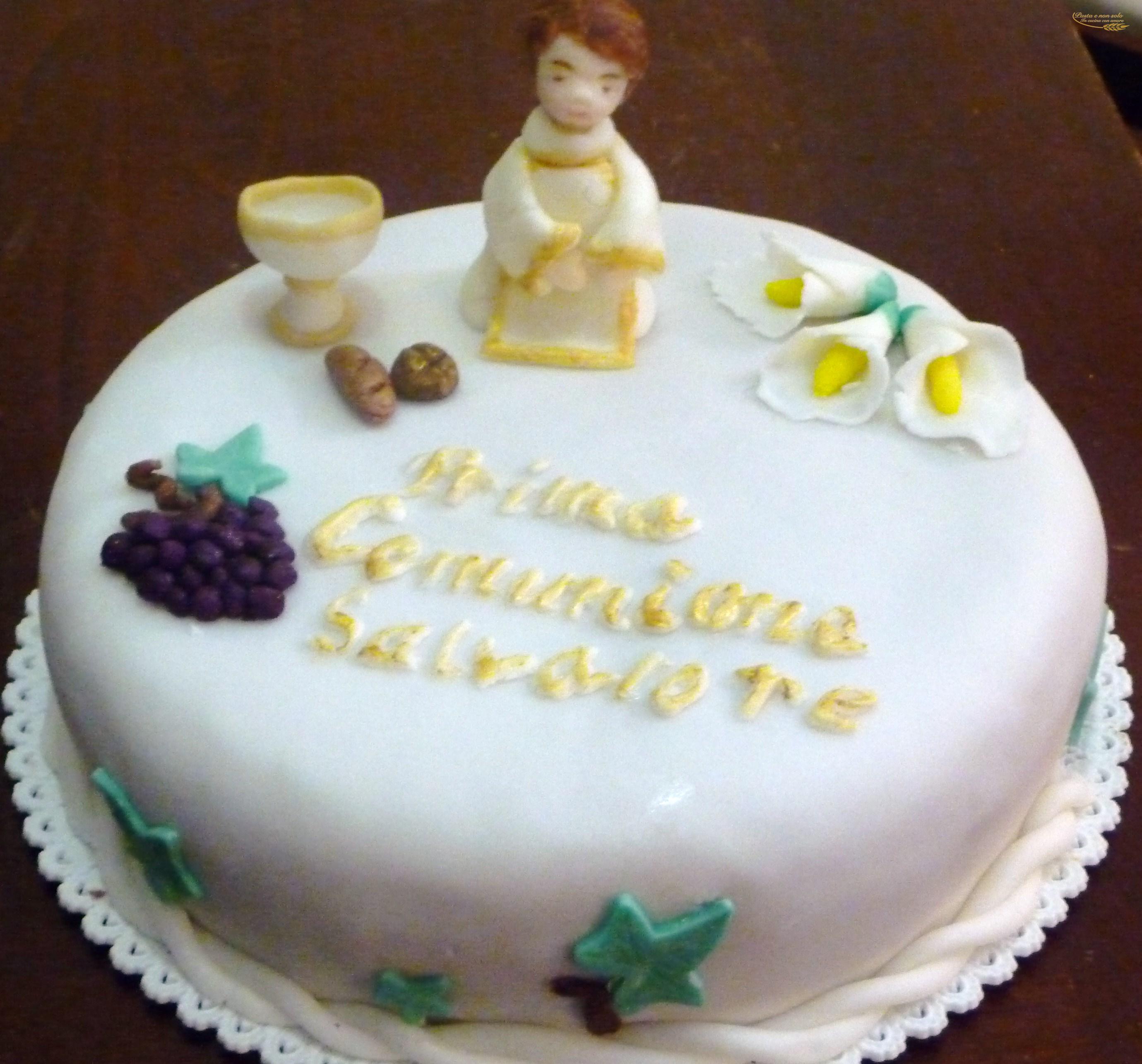Torte per prime comunioni lz48 regardsdefemmes for Decorazione torte prima comunione