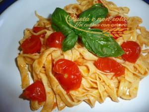 Tagliolini di pasta fresca
