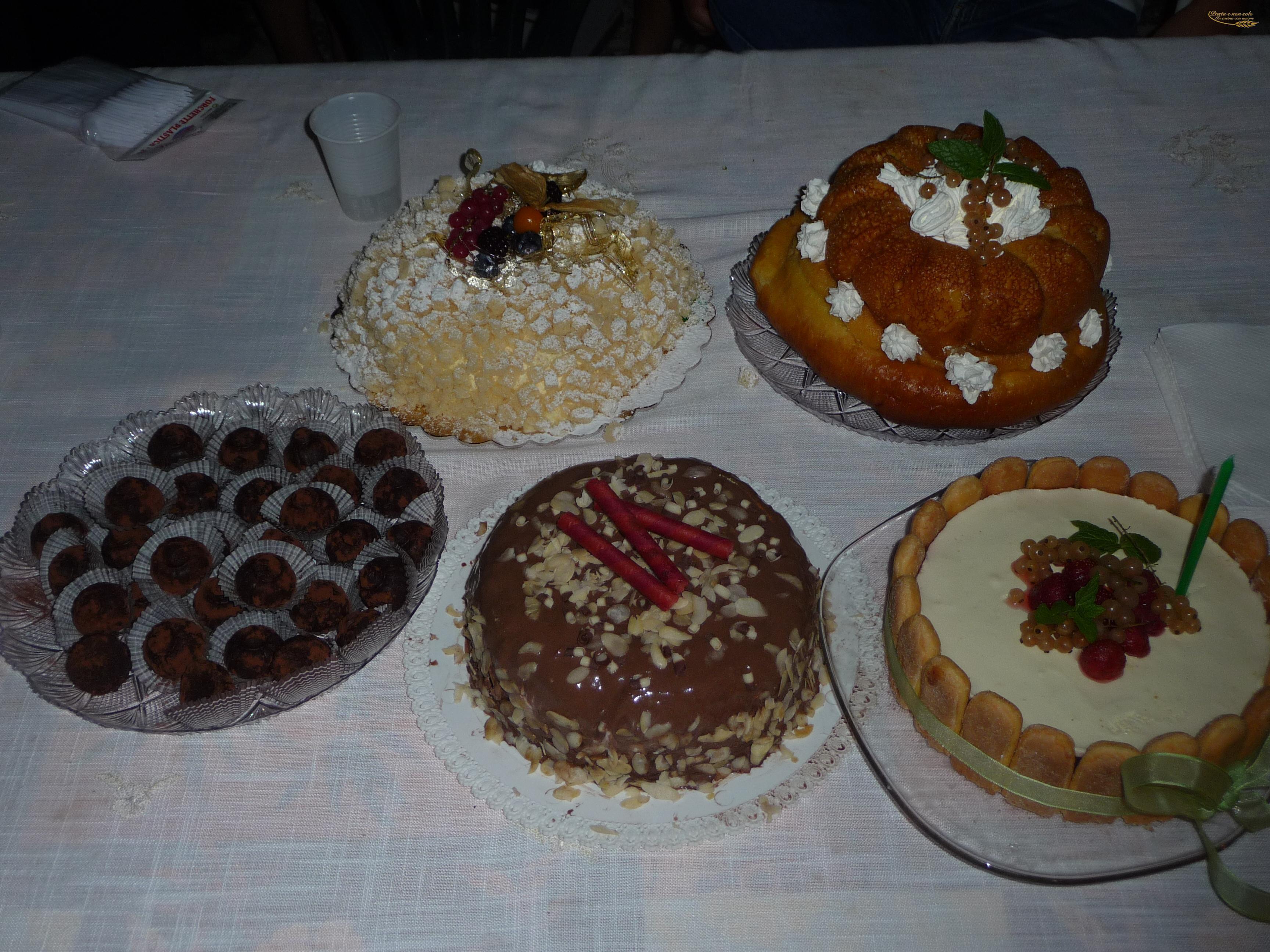 Buffet Di Dolci Per Compleanno : Buffet di dolci pasta e non solo