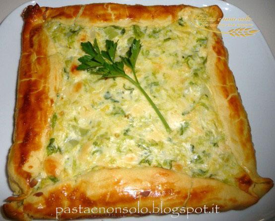 Torta salata con verza e formaggio