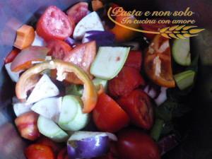 passata di pomodoro con le verdure