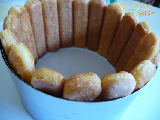 Semifreddo ricotta ananas