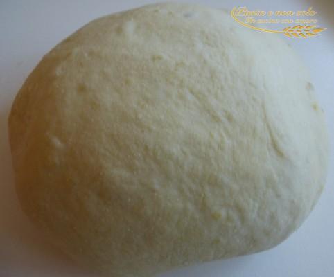 Focaccia alle patate con pasta madre
