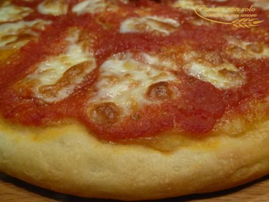 pizza buonissima con pasta madre