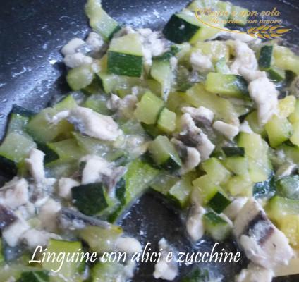 linguine con alici e zucchine 1