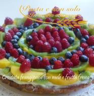 crostata frangipane con mele e frutta fresca3