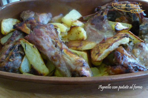 agnello con patate al forno1