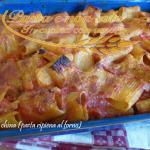 Pasta china (pasta ripiena al forno)