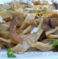 tagliatelle all'aceto balsamico con zucca e pomodori secchi1