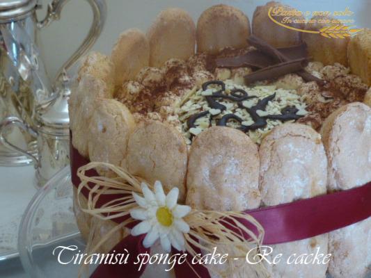 tiramisù sponge cake - Re cake