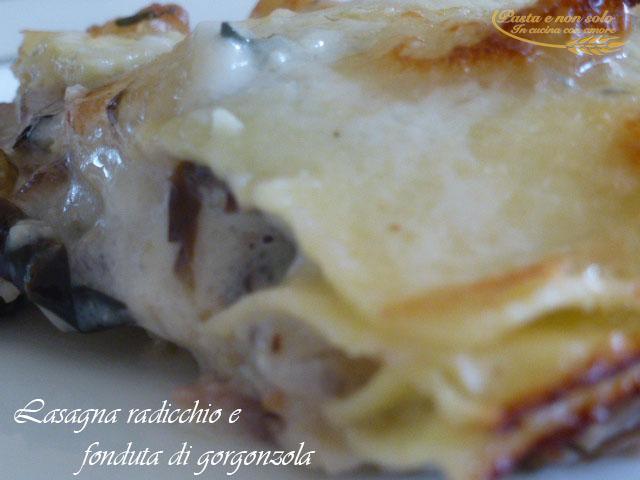lasagna radicchio e fonduta di gorgonzola2