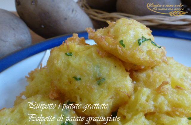 purpette i patate grattate