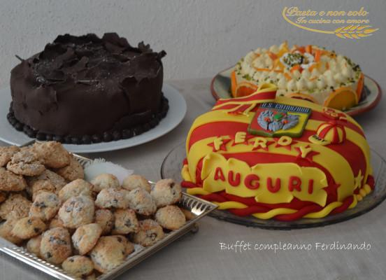 buffet compleanno Ferdinando