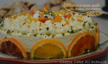 cheese cake all'arancia1