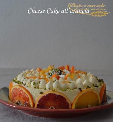 cheese cake all'arancia2