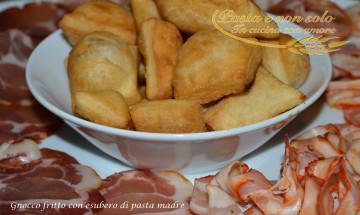gnocco fritto con esubero di pasta madre1