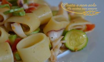anelli zucchine e seppia