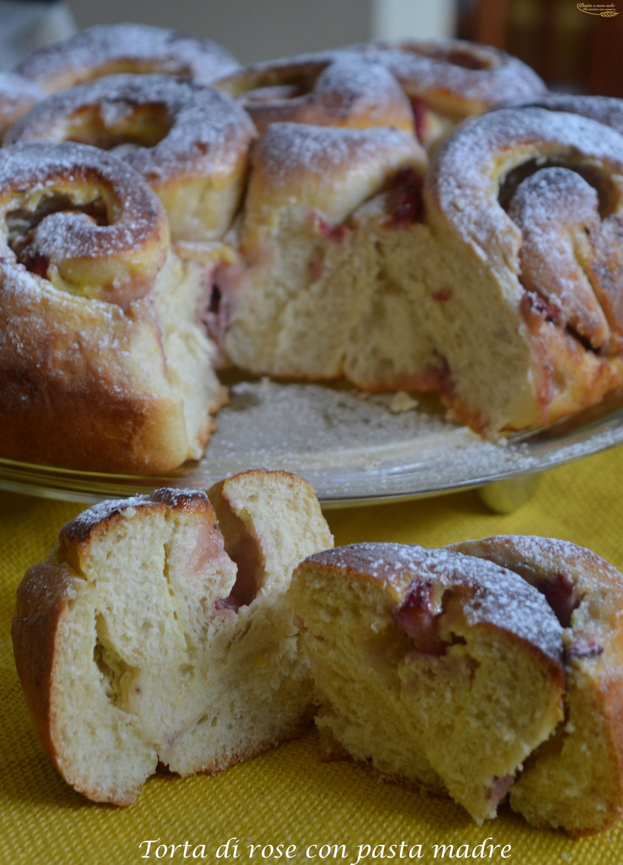 torta di rose con pasta madre1