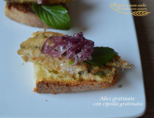 alici gratinate con cipolla caramellata2