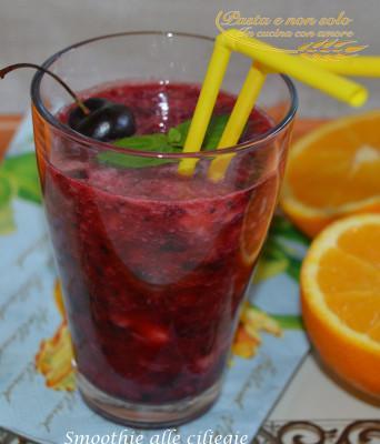 smoothie alle ciliegie2
