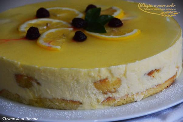 Tiramisù al limone - Pasta e non solo
