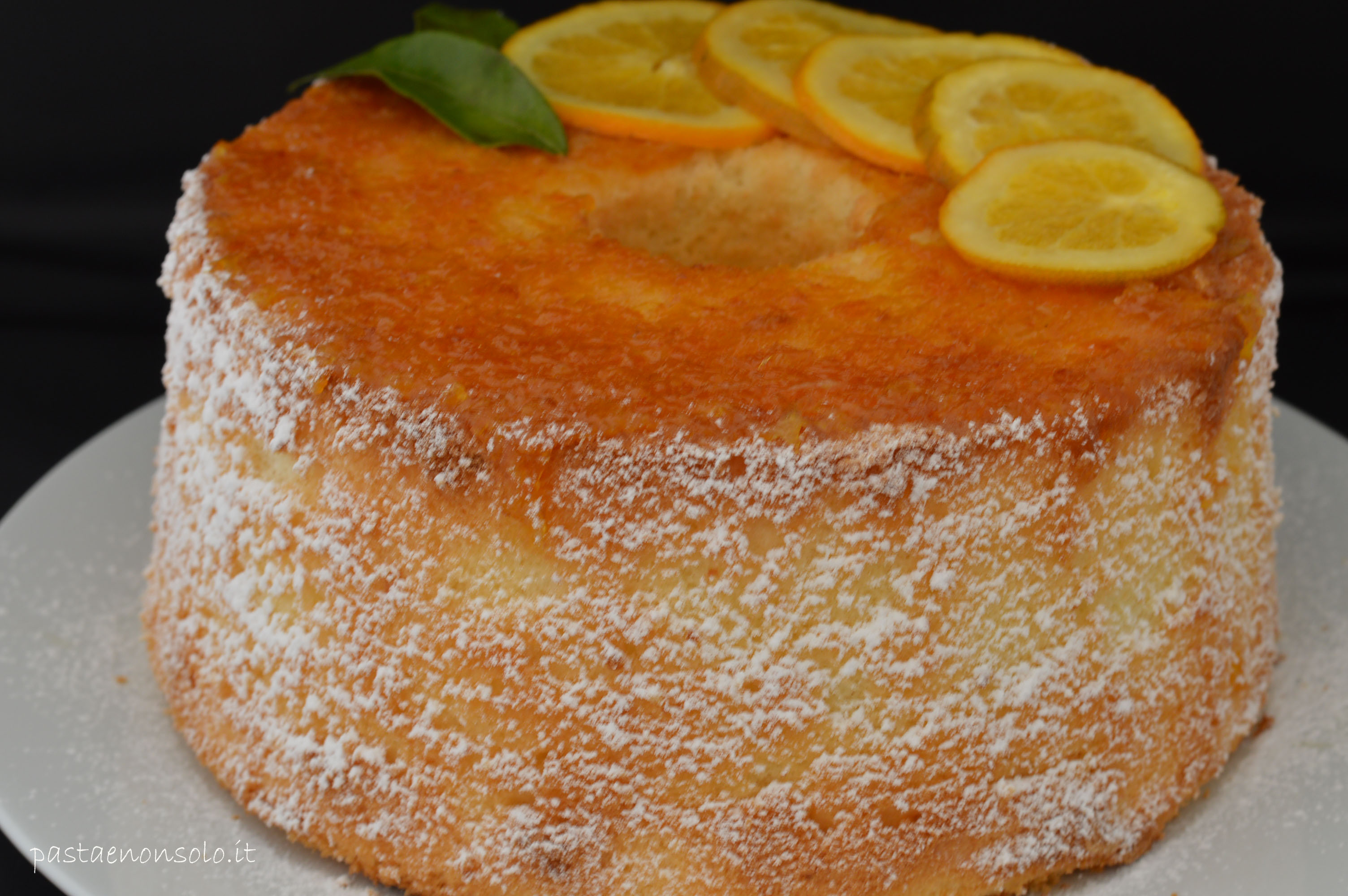 How To Decorate A Chiffon Cake