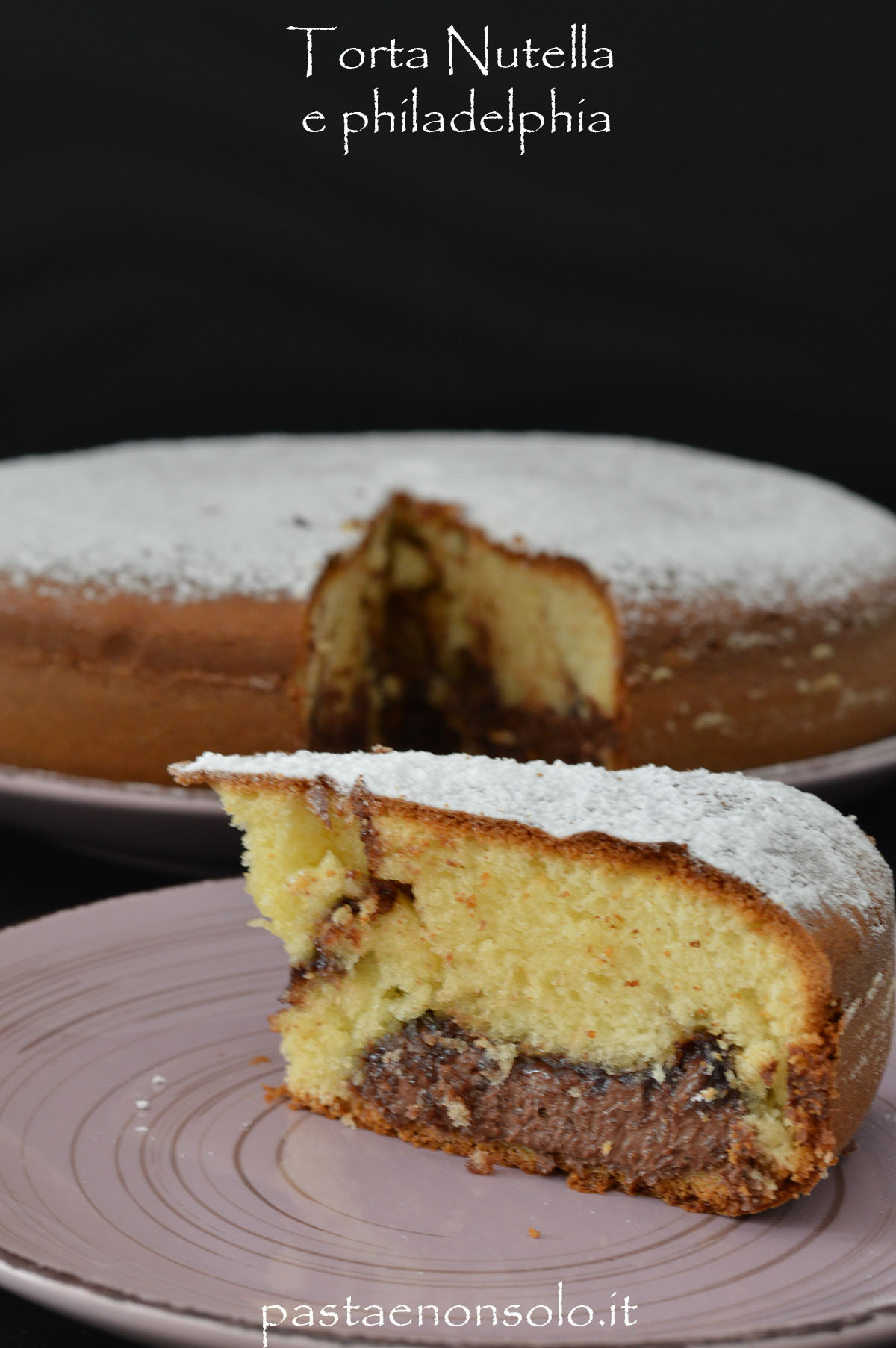 torta nutella e philadelphia 1