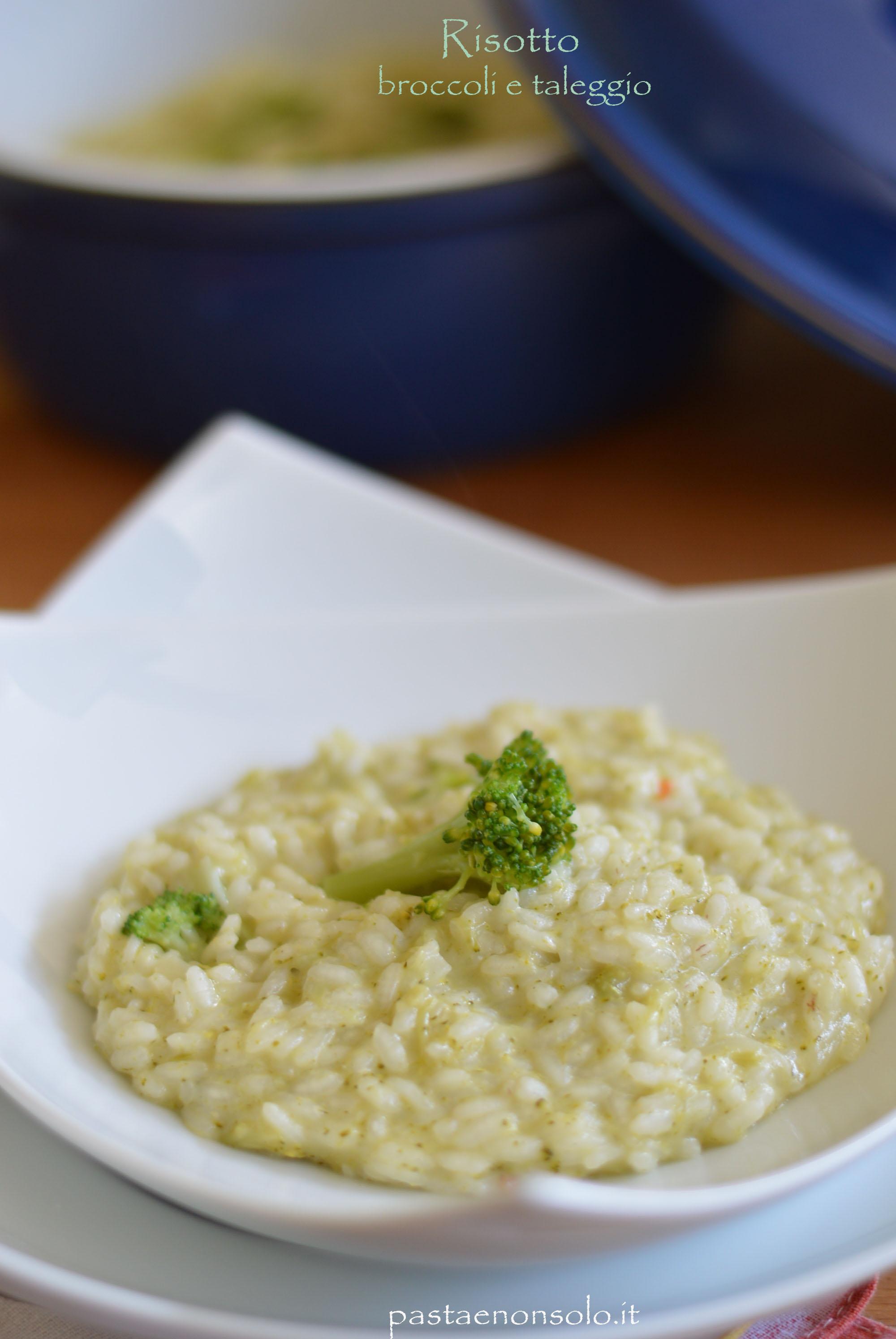 risotto broccoli e taleggio