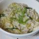 risotto zucchine rucola e taleggio