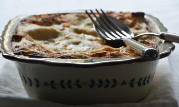 lasagna zucca patate e formaggi