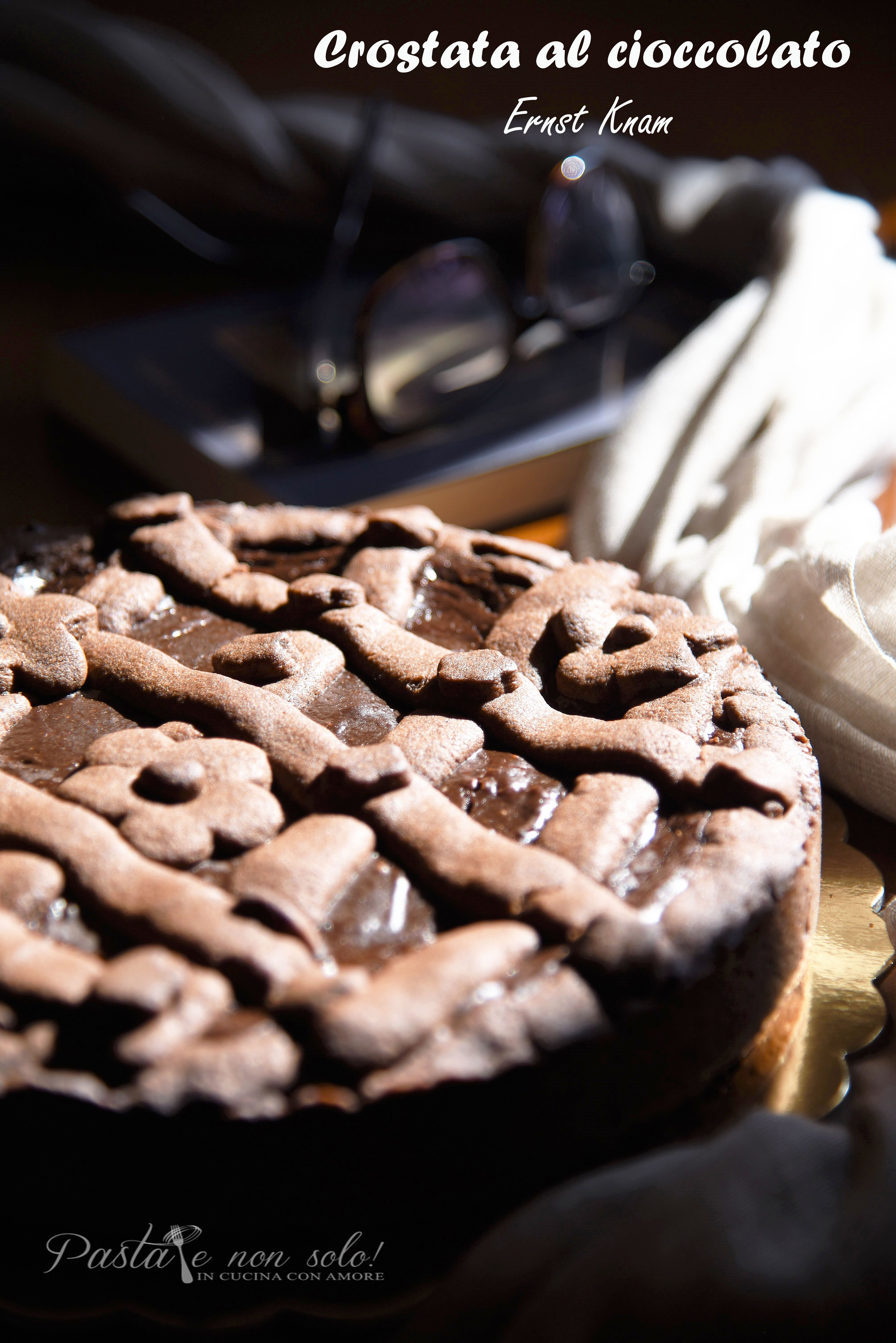 crostata al cioccolato Ernst knam