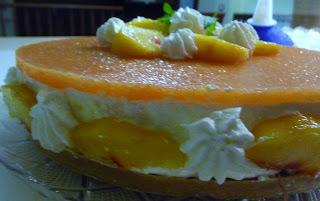 Cheese cake alle pesche