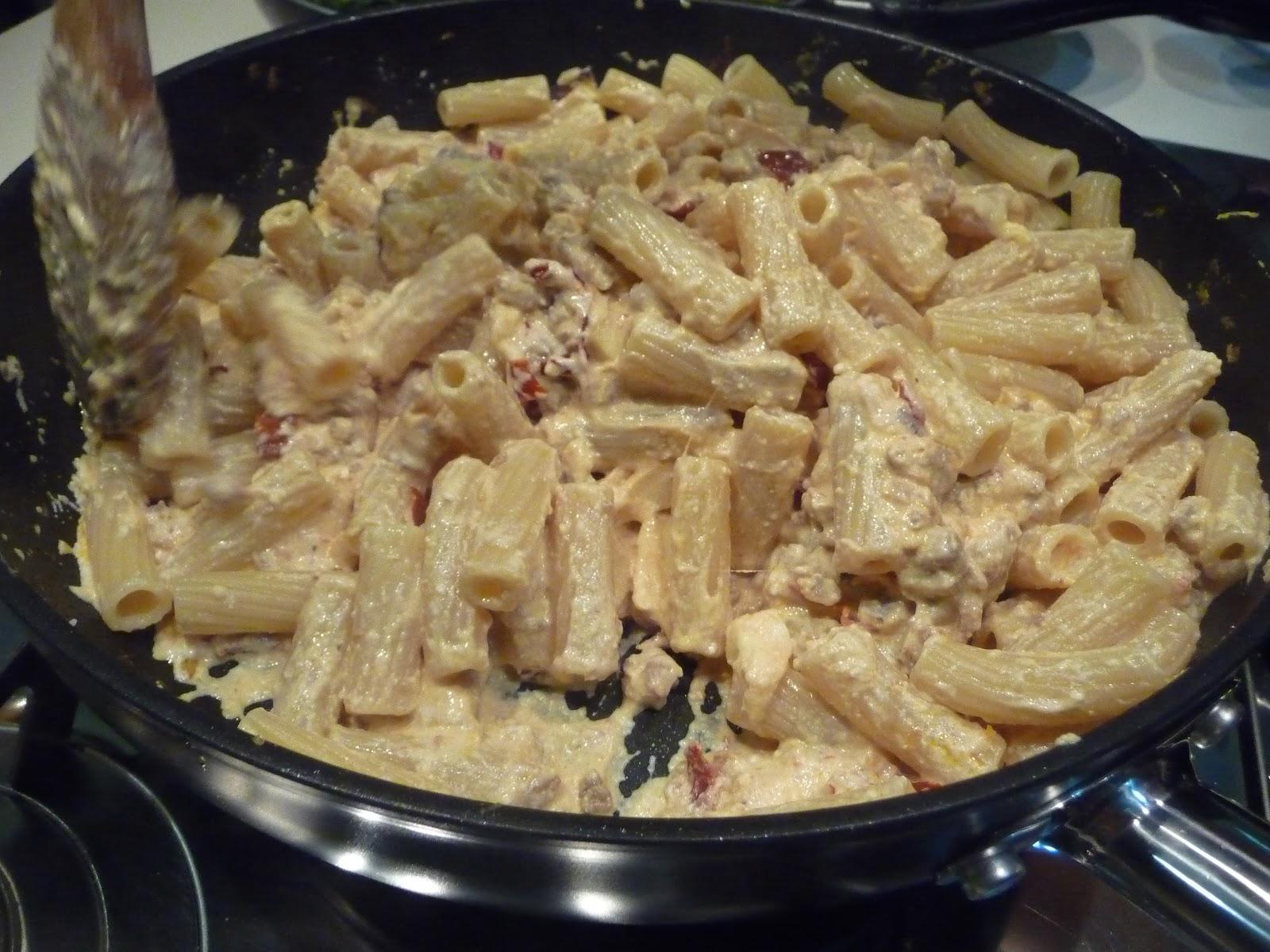 Ricette pasta con ricotta e salsiccia