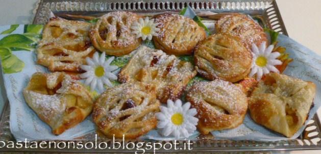 Fagottini di mela e bacche di goji