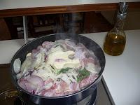 Coniglio in salsa delicata con polenta