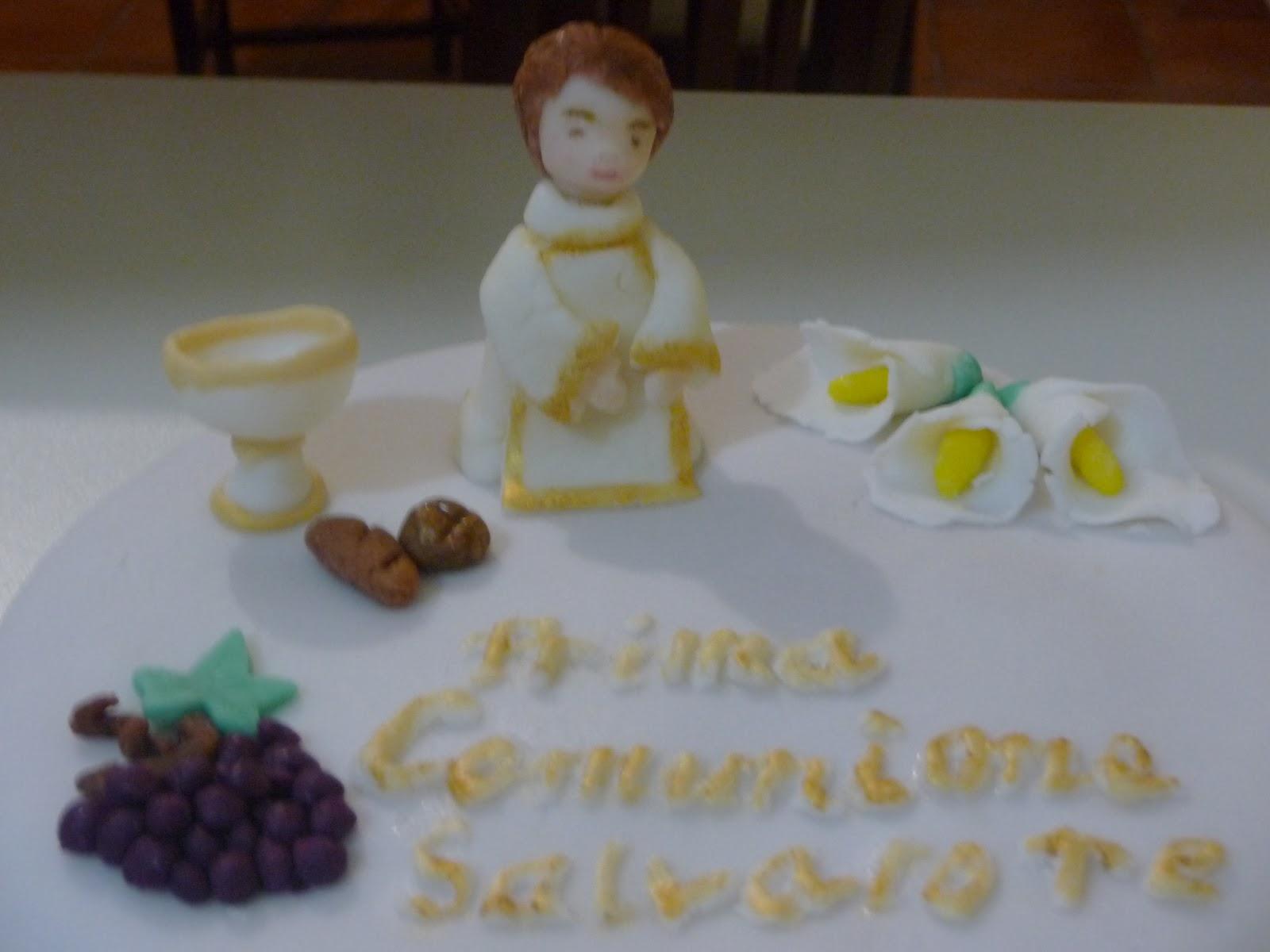 Preferenza Torta Prima Comunione Salvatore - Pasta e non solo QA18