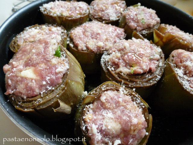 Ricette con carciofi ripieni di carne